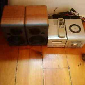 JVC FS D88 Compact Stereo System