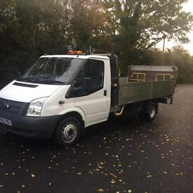 2012 (62) Ford Transit 2.2TDCi ( 125PS ) ( EURO 5) DROPSIDE WITH TAILIFT XLWB