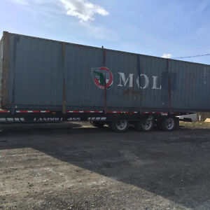 Excellent Shipping and Storage Containers - Sea Cans - 40ft