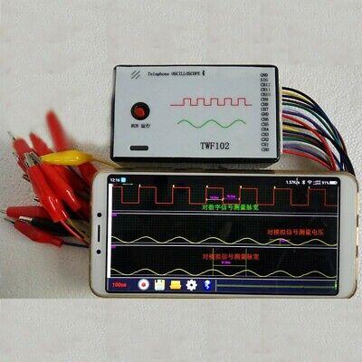 Portable Mobile Phone Oscilloscope For Android Logic Analyzer Oscillator Set -to