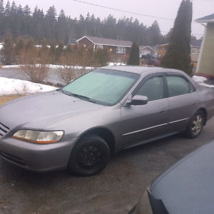 01 honda accord for parts