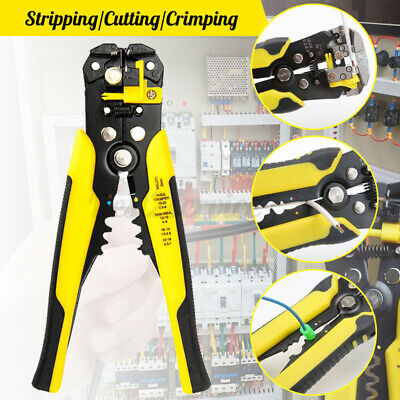 Automatic Wire Stripper Crimper Pliers Hand Stripping Crimping Tool Cable