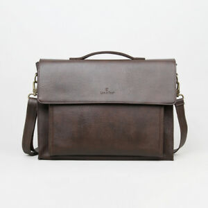 Synthetic Leather Executive Laptop Briefcase-Brand New