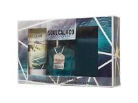 Soul Cal Mens 75ml Eau De Toilette/150ml Shower Gel And Wallet Gift Set