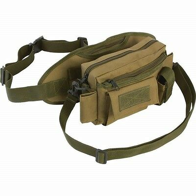 OD Green FANNY PACK & CHEST BAG Gear Waist Belt Utility Tactical Range Hunting