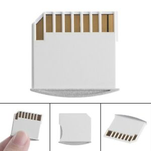 1PC Portable MicroSD TF To SD Card Memory Card Converter Adapter For MacBook Air