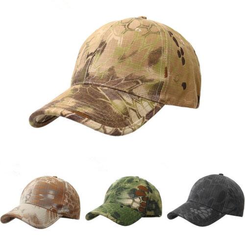 Adjustable men 39 s camouflage military baseball camo hunting for Camo fishing hat