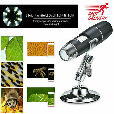 2020 1600x Usb Digital Microscope Handheld 8led 1080p Hd Camera For Android