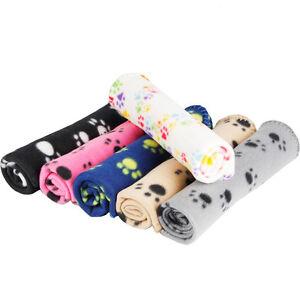 1pcs tapis coussin couverture plaid couchage pattes pour - Couverture pour petit chien ...