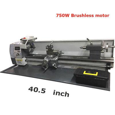 Techtongda 750w Precision Metal Lathe Brushless Motor 110v 40.51516 Inch