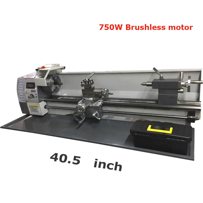 Techtongda 750W Precision Metal Lathe Brushless Motor 110V 4
