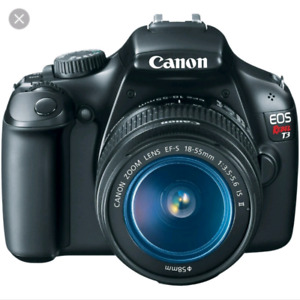 Canon rebel t3 with 18-55mm kit lens