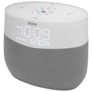 iHome iGV1 Bluetooth Wireless Speaker with Google Assistant -NEW