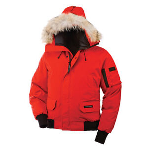 Red Canada Goose Winter Jacket