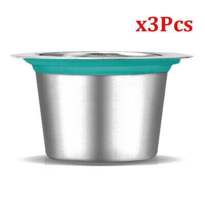 Stainless Reutilizable Capsule Cup Conjunto Recargables For Nespresso u Coffee