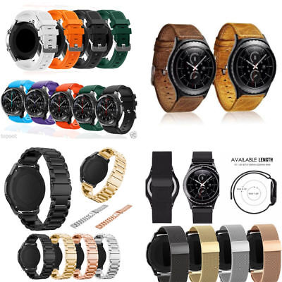 Sports Silicone/Milanese/Stainless Steel/Leather Watch Bands For Samsung Gear S3