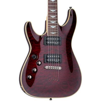 Schecter Omen Extreme-6 Guitarra Eléctrica, Black Cherry (para Zurdos) (Nuevo)