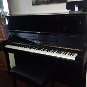 "Yamaha U1 48"" with Bench"