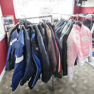 Ladies Leather Textile Motorcycle Jackets Lots To Choose From