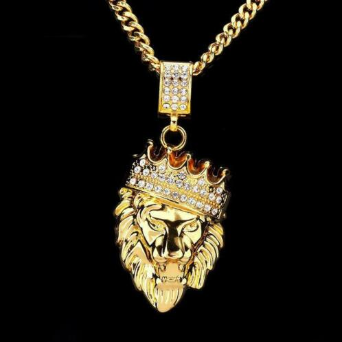 Nieuw ≥ Mannen Hip Hop Jewelry2018Iced Out Goud Mode Bling - Kettingen WB-86