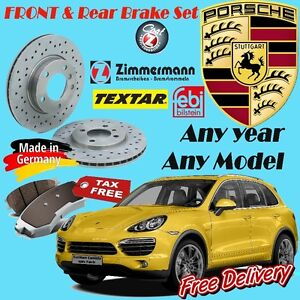 Porsche Brake Sets (Rotor/Pad/Sensor) Any year Any Model Cambridge Kitchener Area image 1