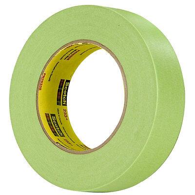 3M Scotch Performance Green 233+ Auto Paint Masking Tape 1 I