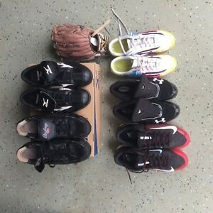 Used Baseball and Soccer Shoes