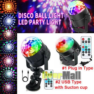 Disco Balls Decorations (USB Mini LED RGB Disco Stage Light Party Club DJ KTV Dance Magic Ball Decor)
