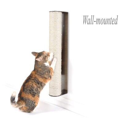 Sisal Post Cat - Pedy Cat Scratching Post Wall-mounted Small Climbing Sisal Furniture Pet Toy