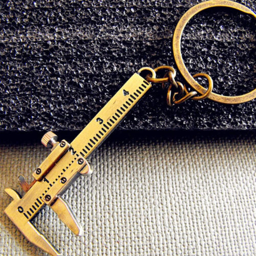 Creative Chain Vernier Caliper Pendant Keyring Key Chain