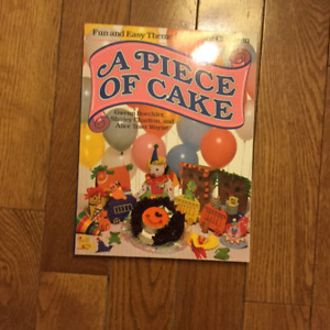 """""""A PIECE OF CAKE"""" PARTY BOOK"""