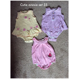 Baby Clothing 0-3 months -Spring/Summer