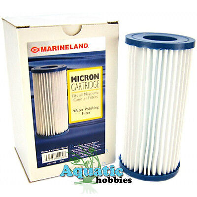 Marineland Micron Cartridge Fits all Magnum Canister Filters Water Polishing covid 19 (Micron Cartridge Water Polishing Filter coronavirus)