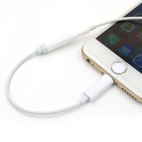 Lightning to 3.5 mm Earbud Headphone Adapter for Apple iPhon