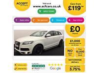 Audi Q7 FROM £119 PER WEEK!
