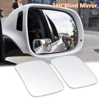 Rear Side Glass - 2pcs Universal Adjustable Car RV Blind Spot Mirror Glass Exterior Rear Side View