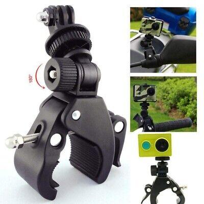 Bike Motorbike Handlebar Clamp Bracket Holder Mount for Action Camera Gopro-DV