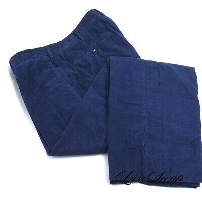 GORGEOUS Incotex 1951 Slowear Blueberry Micro Pinwale Corduroy Pants Trousers NR