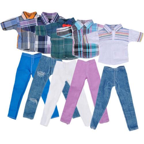 "Vogue Handmade T shirt +Clothes Outfit for 11"" Barbie Boyfriend Ken Doll SS US"