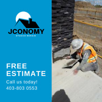 Parging and Stucco in Alberta Areas - Jconomy Stucco