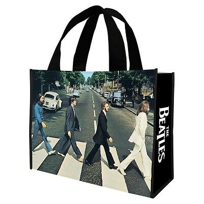 THE BEATLES - ABBEY ROAD - REUSABLE SHOPPING TOTE/GIFT BAG - MUSIC BAND 72373