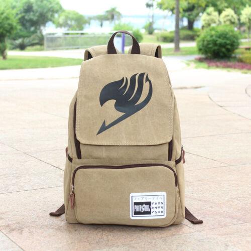 Naruto Gaara Gourd Canvas Backpack Shoulder School Bag Cosplay Prop Satchel Gift