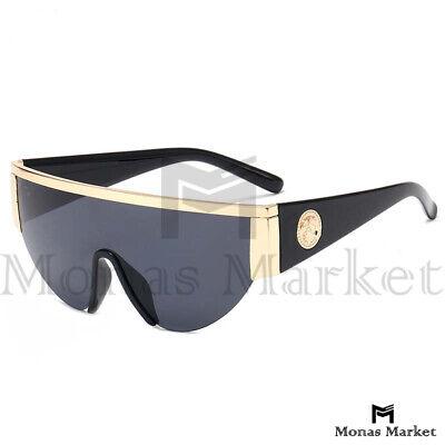 New Versace Medusa Type sunglasses Eyeglasses UV400 Siamese Lens Classic (Sunglasses Lens Types)