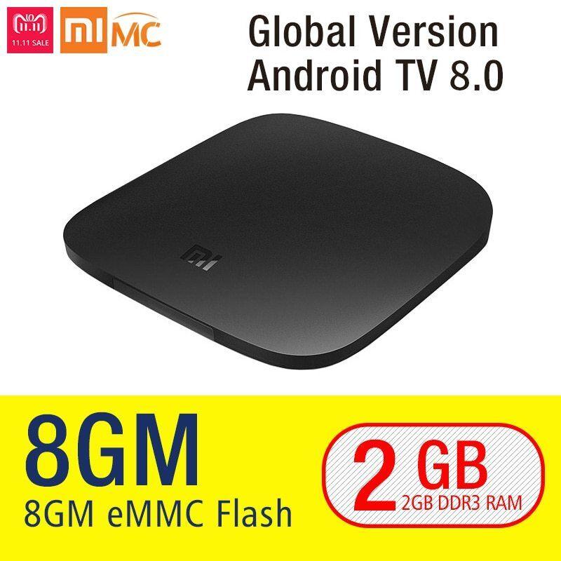 Original Xiaomi MI TV BOX S 4K Global Version Smart Ultra HD