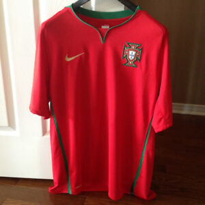 Portugal National Team Soccer Jersey by Nike - Size XL
