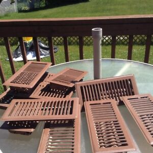 "HEATING GRATES (Brown, 10"" x 4"")"