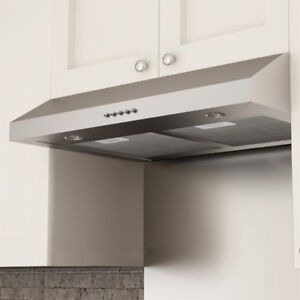 Ancona 30-in Slim Plus Under Cabinet Range Hood / Fan ! ! !