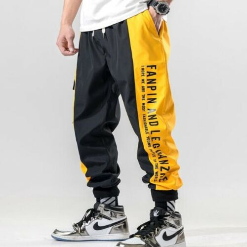 Mens Overalls Cotton Hip-hop All-match Youth Spring Suspender Pants Trousers New