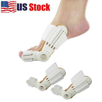 Usa Cares (USA 2X Big Toe Bunion Straightener Splint Corrector Valgus Relief Pain Foot)