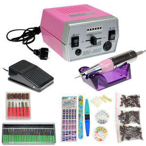 Professional Improved Overheat&Vibration 30000 RPM Electric Nail File Drill Set
